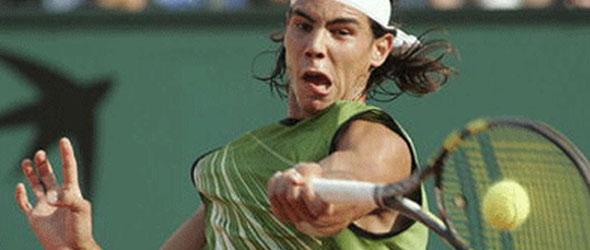 rafael nadal makeup. star Rafael Nadal won the
